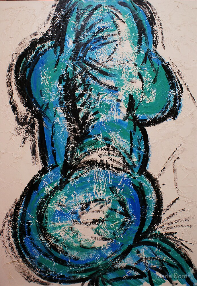 Blue Nude by Maria Norris
