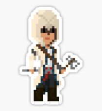 Pixel Connor Kenway - Assassin's Creed III Sticker