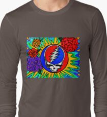 Psychedelic Stealie Grateful Dead fan art T-Shirt