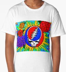 Psychedelic Stealie Grateful Dead fan art Long T-Shirt