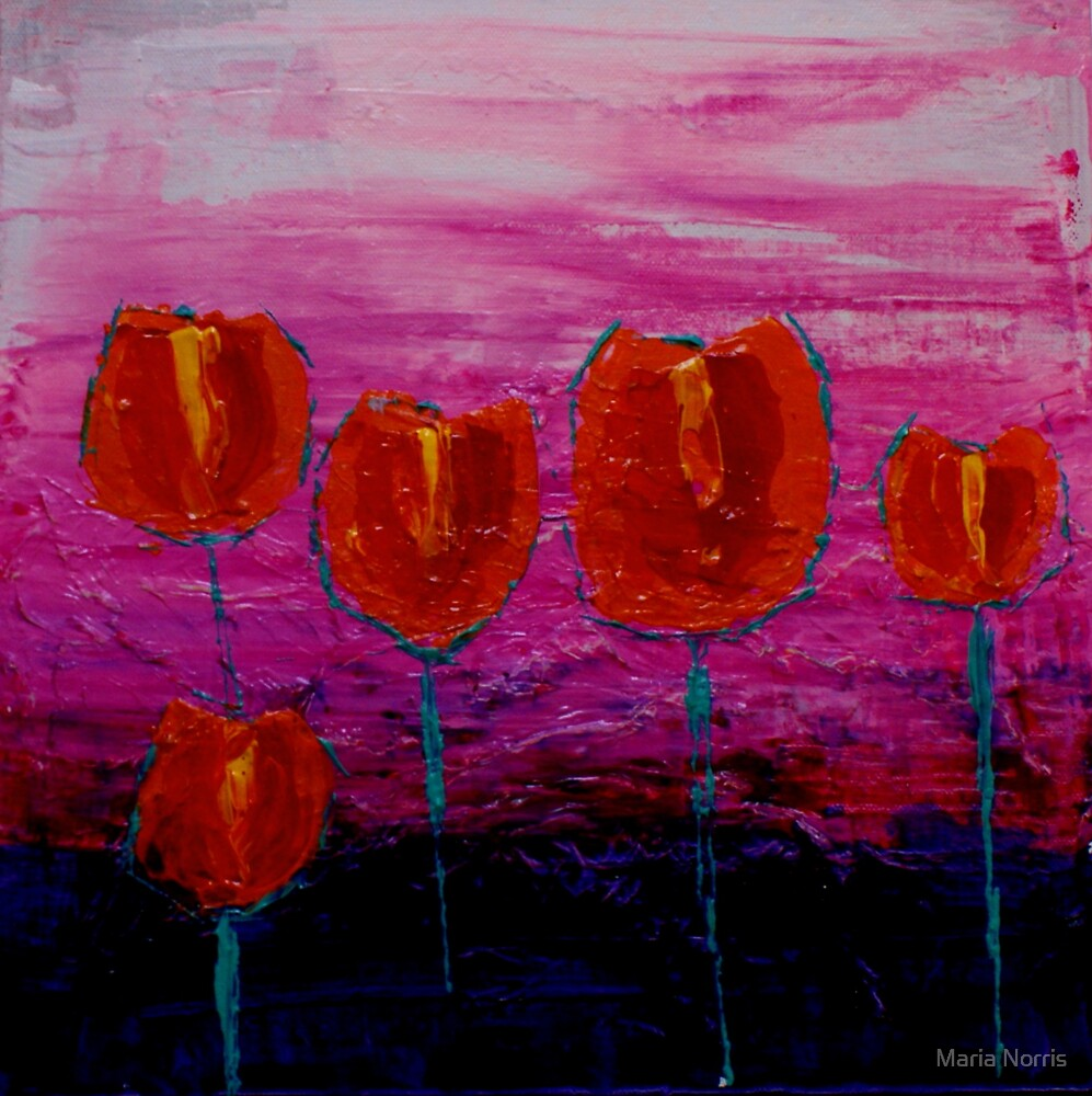 Tulips by Maria Norris