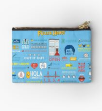 Fuller House Quotes Zipper Pouch