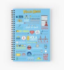 Fuller House Quotes Spiral Notebook