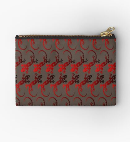 Red Lizard  Studio Pouch