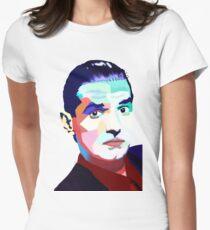 Camiseta entallada Retrato de Hans Holzel (Falco)