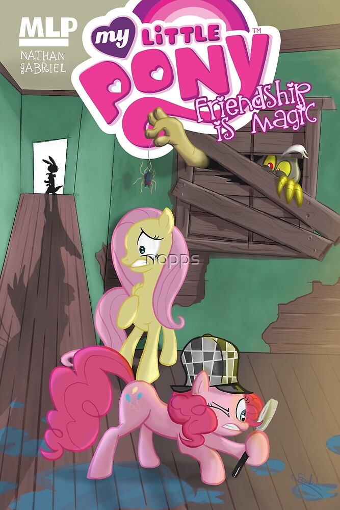 MLP Mystery Cover by nopps