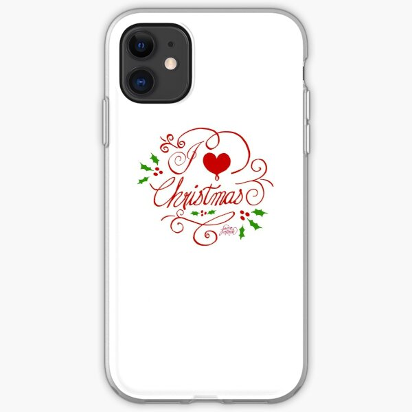 I Love Christmas iPhone Soft Case