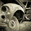 Old Spooky Car  by Joel McDonald