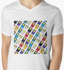 Gameboy retro Men's V-Neck T-Shirt
