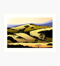 Grant Ranch Art Print