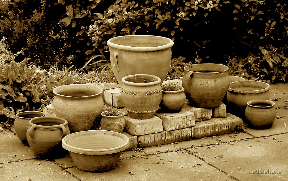 Pots of pots! by newbeltane