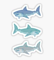 Great White Shorks Sticker