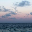 Full moon over Point Danger by Annie Smit