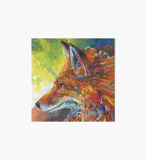 Red fox painting - 2012 Art Board
