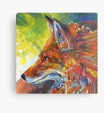 Red fox painting - 2012 Metal Print