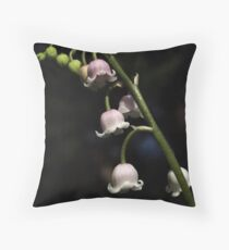 Lily of the Valley Rosea Throw Pillow