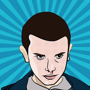 Eleven PopArt Style Movie Geek by Chickini
