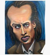 Nic Cage Caricature Poster