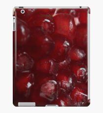 Pomegranate macro iPad Case/Skin