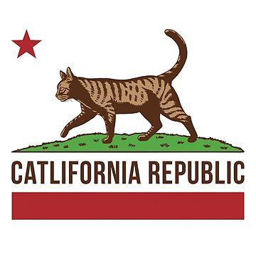 Bandera de Catlifornia de designbydinny