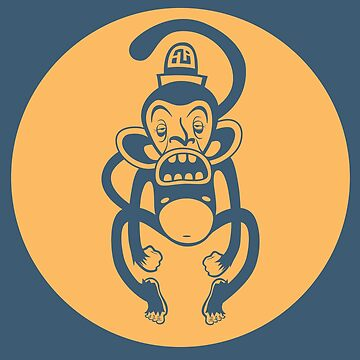 Ugly Monkey by TristanTait