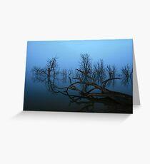 Lake Eucumbene Greeting Card