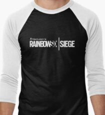 rainbow - We are speaking a language as it swims Men's Baseball ¾ T-Shirt