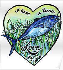 Love you a tuna  Poster
