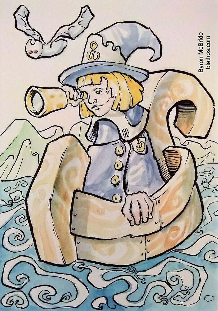 Nautical Magic Society Patrol Boat by Byron  McBride