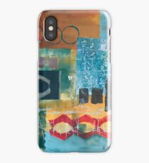 Primary Color Abstract Collage  iPhone Case/Skin