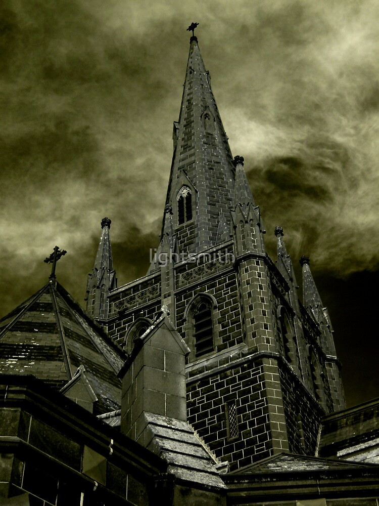 St Mary of the Angels - Standing Against Satan #2 by lightsmith