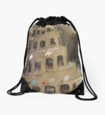tower Drawstring Bag