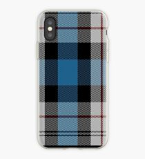 00482 Ferguson Dress Blue Dance Tartan  iPhone Case