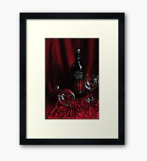 Once upon a Wine Framed Print