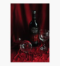 Once upon a Wine Photographic Print