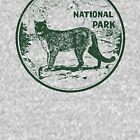 Yosemite Cougar National Park Vintage  by hilda74