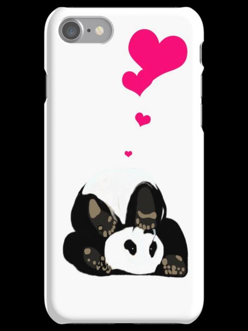 Happy panda by CatchyLittleArt