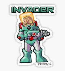 Invader Sticker