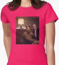 The Shining Dog Suit Womens Fitted T-Shirt