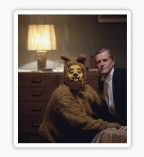 The Shining Dog Suit Sticker