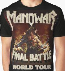 manowar Graphic T-Shirt