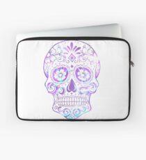 Purple Skull Laptop Sleeve