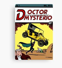 Doctor Mysterio Comics! Fabulous First Issue! Canvas Print