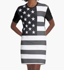 Gray Glory Graphic T-Shirt Dress