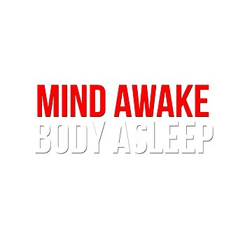 Mind Awake, Body Asleep // Mr Robot by IMGHDS