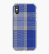 00446 Bannockbane Blue #3 Tartan  iPhone Case