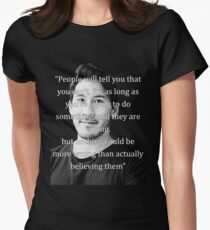 Markiplier Quote 1 Women's Fitted T-Shirt
