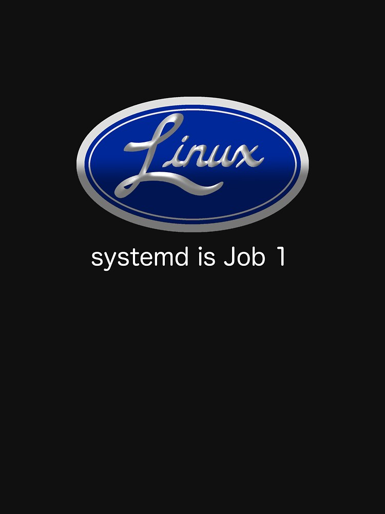 Linux systemd Job 1 by andrewmlk