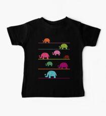 Elephant race Baby Tee