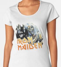 the maiden - run to the hills trooper Women's Premium T-Shirt